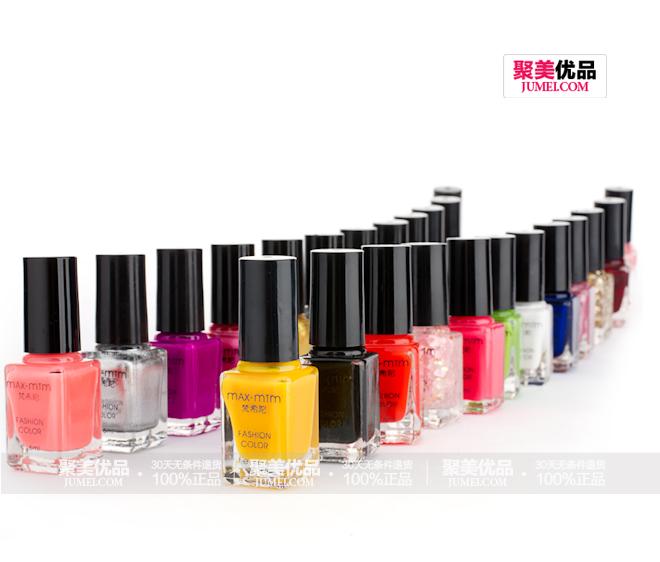 梵希陀珐琅明色24色限量版灵动炫色心情指甲油套装产品排列