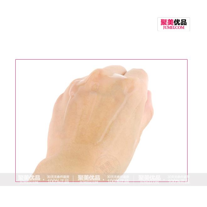 兰蔻清滢柔肤水(粉水)400ml真人试用抹开效果